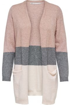 ONLY Long Knitted Cardigan Damen Pink(94975883)