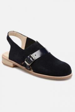 SALE -40 Deux Souliers - Buckle Sandal #3 - SALE Sandalen für Damen / blau(111575111)