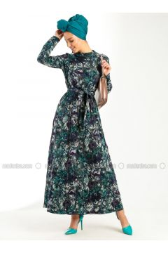 Green - Purple - Dresses - Peramood(110319617)