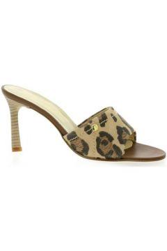 Claquettes Elizabeth Stuart Nu pieds cuir velours(98496699)