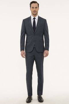 Pierre Cardin Slim Fit Lacivert Takım Elbise(124927277)
