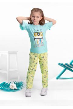 Arnetta Arnetta Selfie Mavi Kız Çocuk Pijama Takımı(119154689)