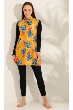 Maillot De Bain Entièrement Couvert AQUELLA Multicolore / Jaune(119071291)