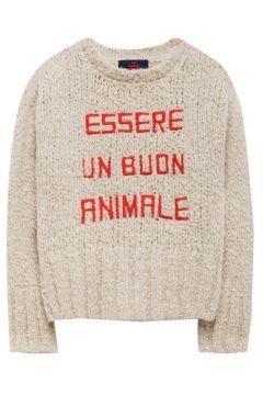 Pullover aus Alpaka und Wolle Bull(117295952)