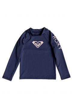 Roxy Whole Hearted Long Sleeve Mädchen Rash Vest - Medieval Blue(100261146)