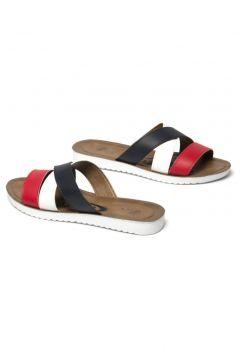 Prive Kadın Beyaz -Siyah -Kırmızı Renkli Terlik(118648235)