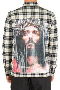 Men's long sleeve shirt dress shirt jesus(117014809)