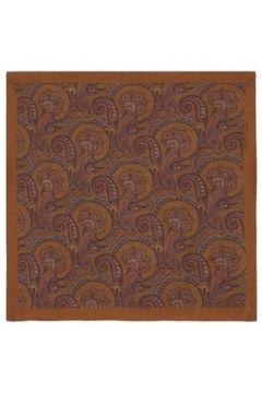 Lardini Erkek Kahverengi Etnik Desenli Yün Fular EU(120139018)