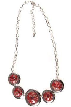 Collier Lvdlm Collier pierres pailletées rouge(88488728)