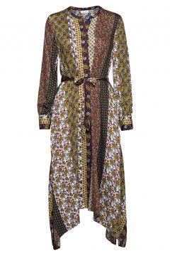 Dress Woven Fabric Maxikleid Partykleid Bunt/gemustert GERRY WEBER(114165027)