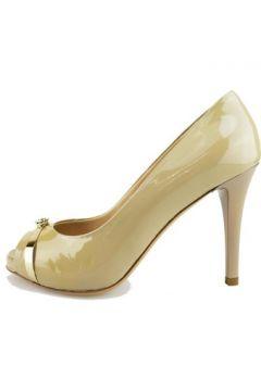 Chaussures escarpins Del Gatto escarpins beige cuir verni AG605(88469566)