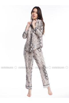 Multi - Point Collar - Multi - Modal - Pyjama - Pamuk&Pamuk(110323053)