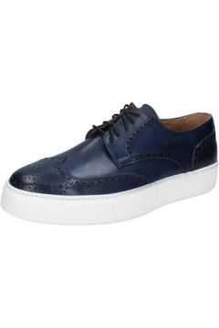 Chaussures Di Mella élégantes bleu cuir AB929(115393885)