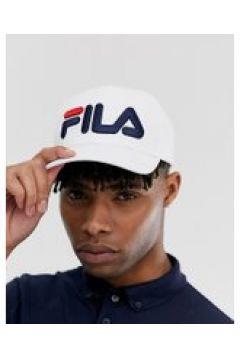Fila - Linea - Weiße Kappe mit großem Logo - Weiß(93572613)