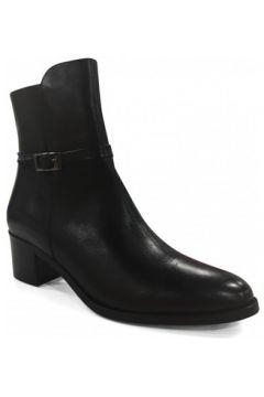 Bottines PintoDiBlu Boots talon Noir(128011099)