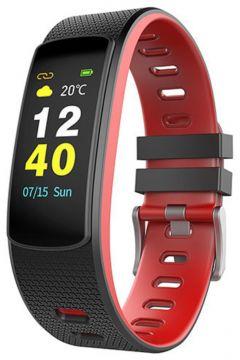 Everest Ever Fit W45 Android/IOS Smart Watch Full Dokunmatik Renkli Ekran Kırmızı/Siyah Akıllı Bileklik Saat(105146071)