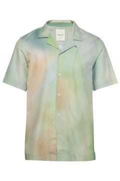 Brandon Shirt Kurzärmliges Hemd Bunt/gemustert WOOD WOOD(116887873)