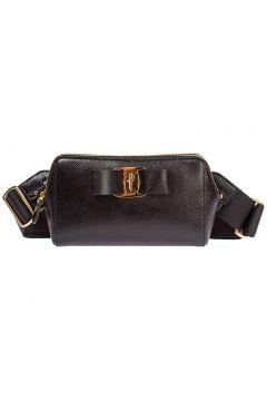 Women's leather belt bum bag hip pouch fiocco vara(116886700)