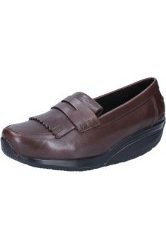 Chaussures Mbt mocassins marron cuir performance AB392(115395145)
