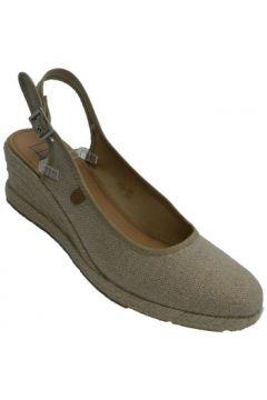 Sandales Calzamur Chaussure, femme, ouvert, dos, chanvre,(127927284)
