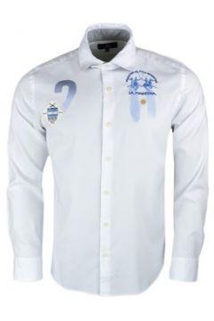 Chemise La Martina Chemise blanche Argentine slim fit pour homme(115401509)