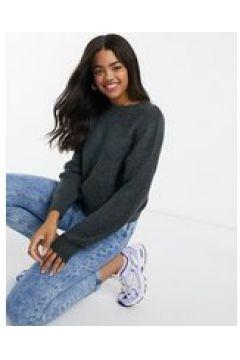 Pull&Bear - Pacific - Maglione lavorato in maglia grossa grigio antracite(123030560)