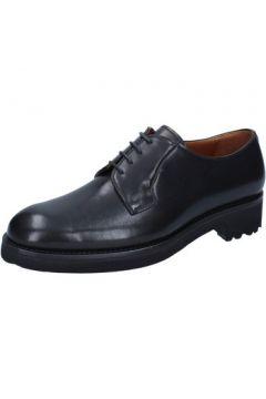 Chaussures Alexander élégantes noir cuir BY449(115393802)