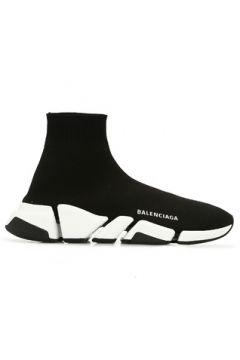 Balenciaga Kadın Speed 2 Siyah Beyaz Sneaker 36 EU(122296640)