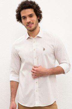 U.S. Polo Assn. Slim Fit Erkek Gömlek(114002932)