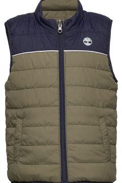 Puffer Jacket Sleeveless Weste Grün TIMBERLAND(109274192)