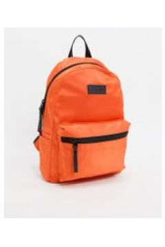 Consigned - Zaino in raso con zip anteriore-Arancione(120233270)