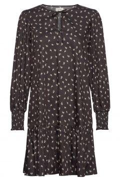 Lr-Jolie Kurzes Kleid Schwarz LEVETE ROOM(116951556)