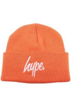 Bonnet Hype Bonnet à Revers Script Orange et Blanc(115448858)