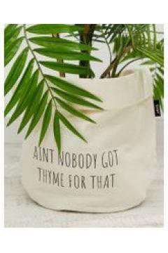 """Moxon - Porta vaso grande con scritta \""""Aint Nobody Got Thyme For That - Multicolore(95037332)"""