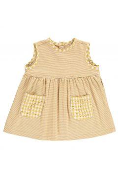 Gestreiftes Kleid mit Taschen(113866561)