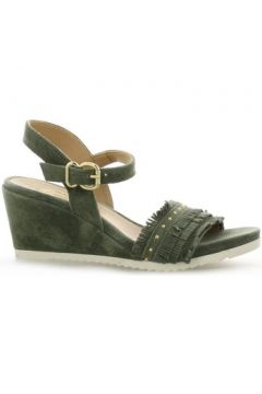 Sandales Alpe Nu pieds cuir velours(98531335)