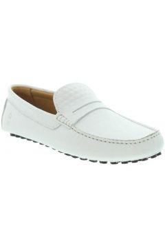 Chaussures Les Mocassins Tropéziens Mocassins les tropéziens ref_lmc46138 Blanc(128014469)