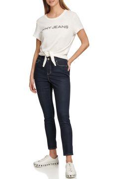 Dkny Jeans Yüksek Bel Denim Pantolon(124927000)