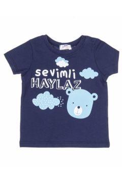 Soobe Erkek Bebek Kısa Kollu Tshirt Lacivert(118964258)