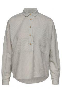 Wesley Shirt Awn Langärmliges Hemd Grau IBEN(109152019)