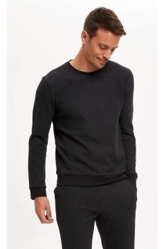 DeFacto Erkek Slim Fit Pijama Alt ve Üst Takım(125929213)