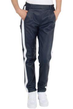 Jogging Oakwood Pantalon en cuir ref_cco45537 Marine(115559970)