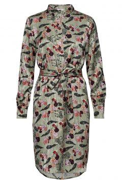 Dress W. Collar In Walking Zebra Pr Kleid Knielang Bunt/gemustert COSTER COPENHAGEN(114163978)