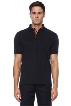 Paul Smith Erkek Lacivert Polo Yaka T-shirt S EU(121108266)
