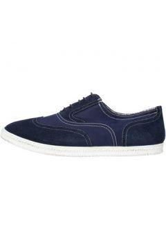 Baskets Docksteps sneakers bleu daim textile AG851(88469649)