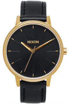 Montre Femme Nixon Kensington Leather - Gold Black(111324931)