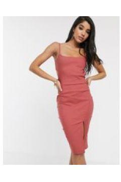 Vesper - Vestito midicon spalline e cut-out rosa vintage(120327428)