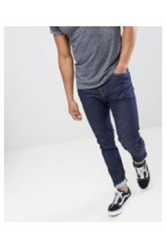 """Levi\'s 512 - Schmal zulaufende Jeans in schlanker Passform mit niedrigem Bund in \""""Rock Cod\"""" Rinse-Waschung - Blau(95033194)"""