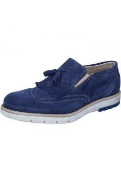 Chaussures Kep\'s By Coraf KEP\'S mocassins bleu daim BZ886(115399058)