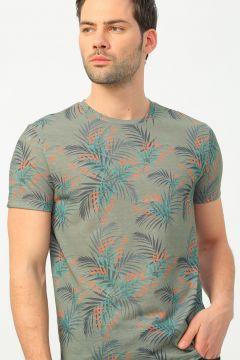 Fabrika Haki Erkek T-Shirt(113996129)
